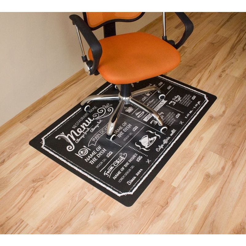 Wszystkie nowe Mata ochronna pod krzesło obrotowe z nadrukiem 015 - 80x120cm RY68