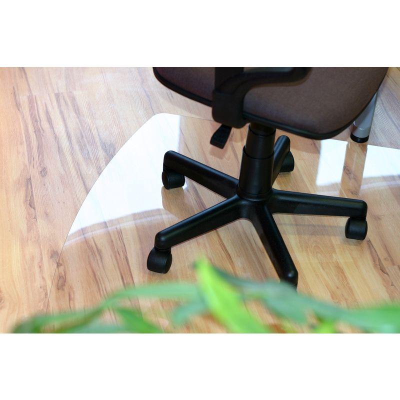 Niesamowite Mata ochronna pod krzesło - 100x140cm - prostokątna, krystaliczna YV12