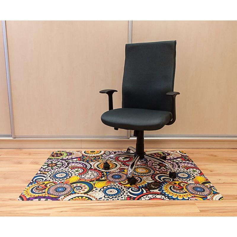 Maty Ochronne Pod Krzesła Ze Wzorem 056 Pod Krzesło